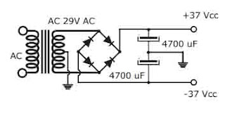 Build Stereo Power Amplifier TDA7294 2x90W