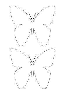 Sagoma farfalla grande