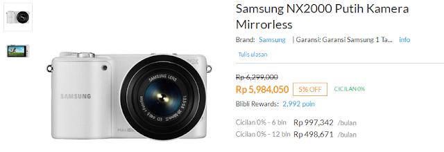 Kamera Mirrorless Samsung Bikin Hidup Lebih Indah