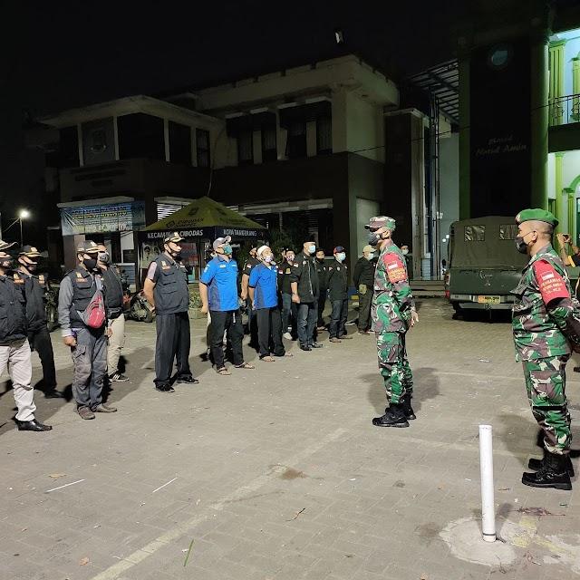Danramil 06/Jtu Pimpin Patroli Malam Cegah Tawuran Dan Kerumunan