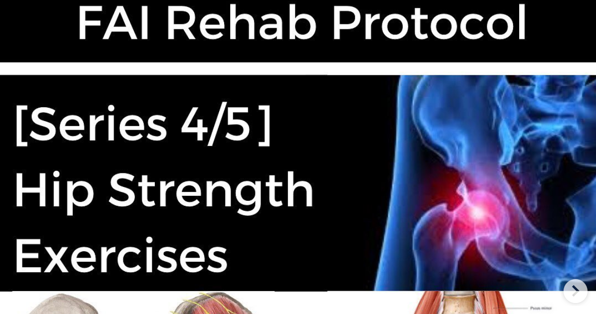 Photo of FAI Rehab Protocol Part 4 – Hip Strength Exercises | Modern Manual Therapy Blog