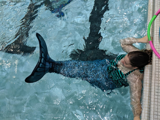 Aquamermaid Swimming Class by Musings of a Museum Fanatic #Chicago #101in1001