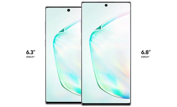 سامسونغ تكشف رسميا عن Galaxy Note 10 و + Galaxy Note 10