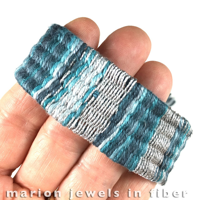 Woven Bracelets made with the Straw Weaving Method