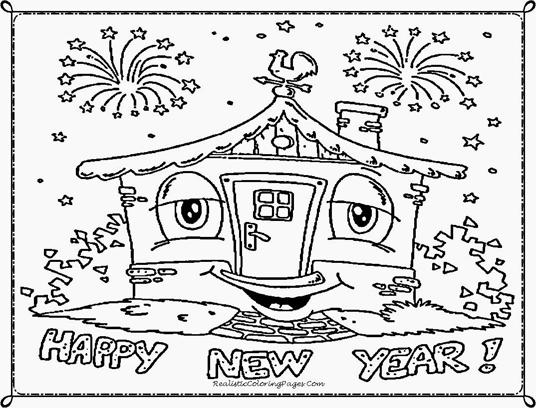 Happy New Year Worksheet