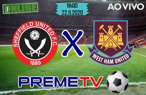Sheffield x West Ham Ao Vivo
