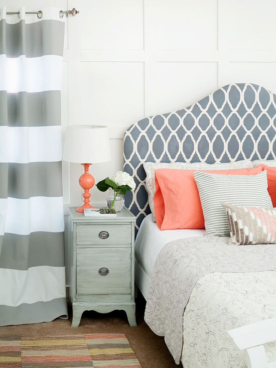 Modern Furniture Bedroom Decorating With Summer