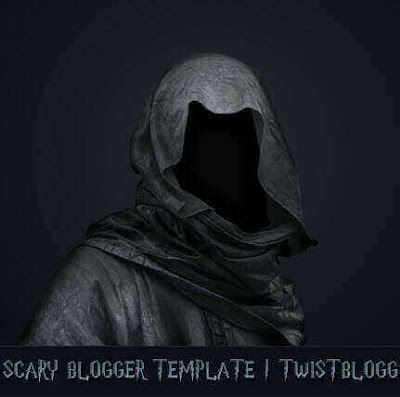 Scary Blogger Template Download