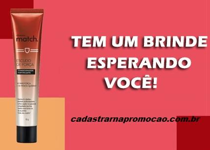 Promoção O Boticário Brinde Grátis Match Condicionador Força Grátis - Como Conseguir?