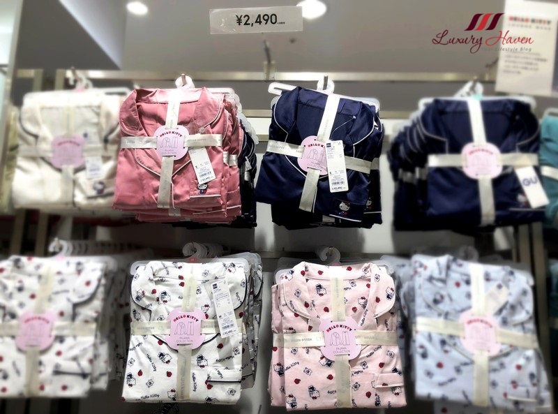 rinku town osaka gu hello kitty sleepwear