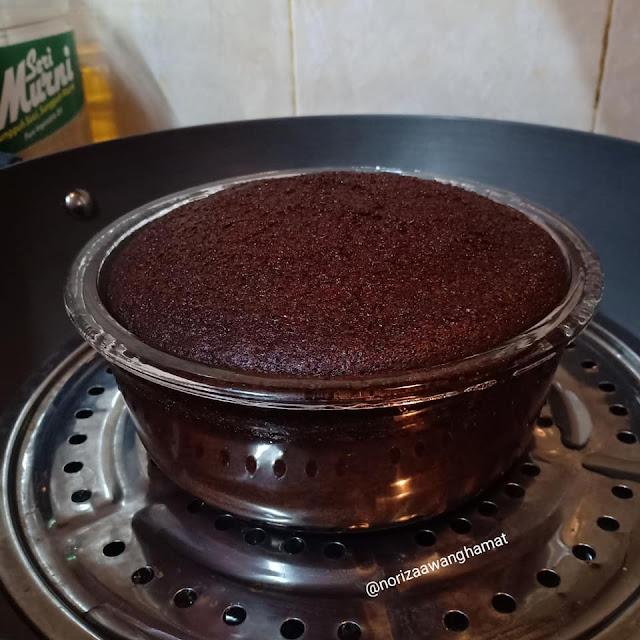 cara buat kek milo
