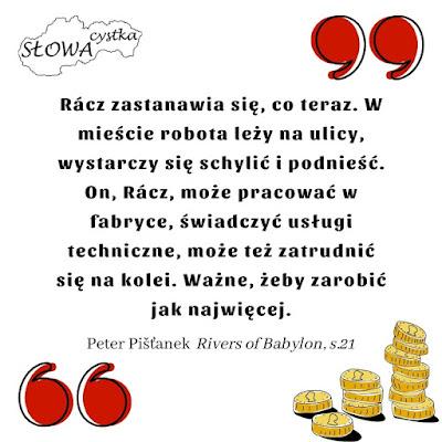 Peter Pistanek Rivers of Babylon cytat
