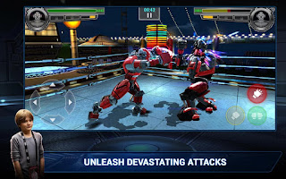 Real Steel Champions v1.0.279 Mod Apk Data (Unlimited Money+Gold) Terbaru