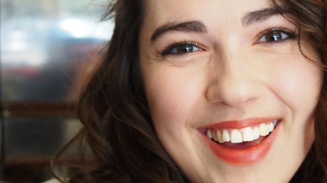 Natalie smiling