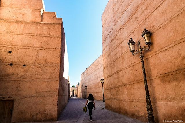Marrakech, caminando por el interior de la kasbah, por El Guisante Verde Project