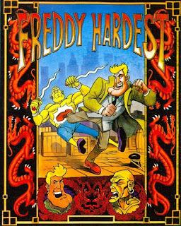 Portada Freddy Hardest en Manhattan Sur