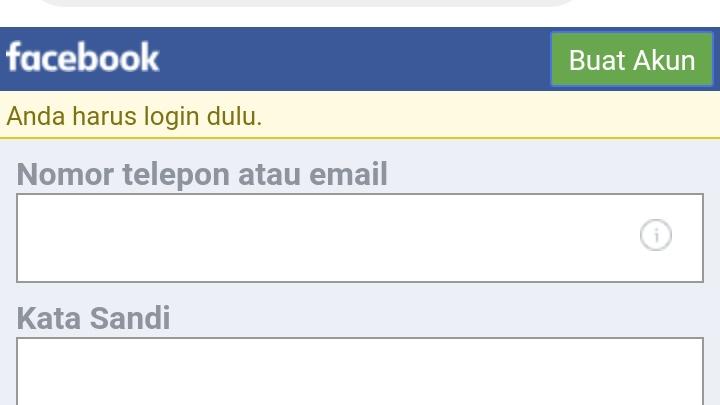 Cara membuat komentar facebook Error