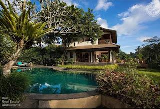Villa sale 4BR Ubud Ricefield View
