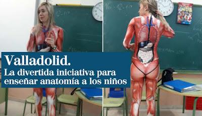 Pakaian mengajar yang dikenakan Verónica Duqu