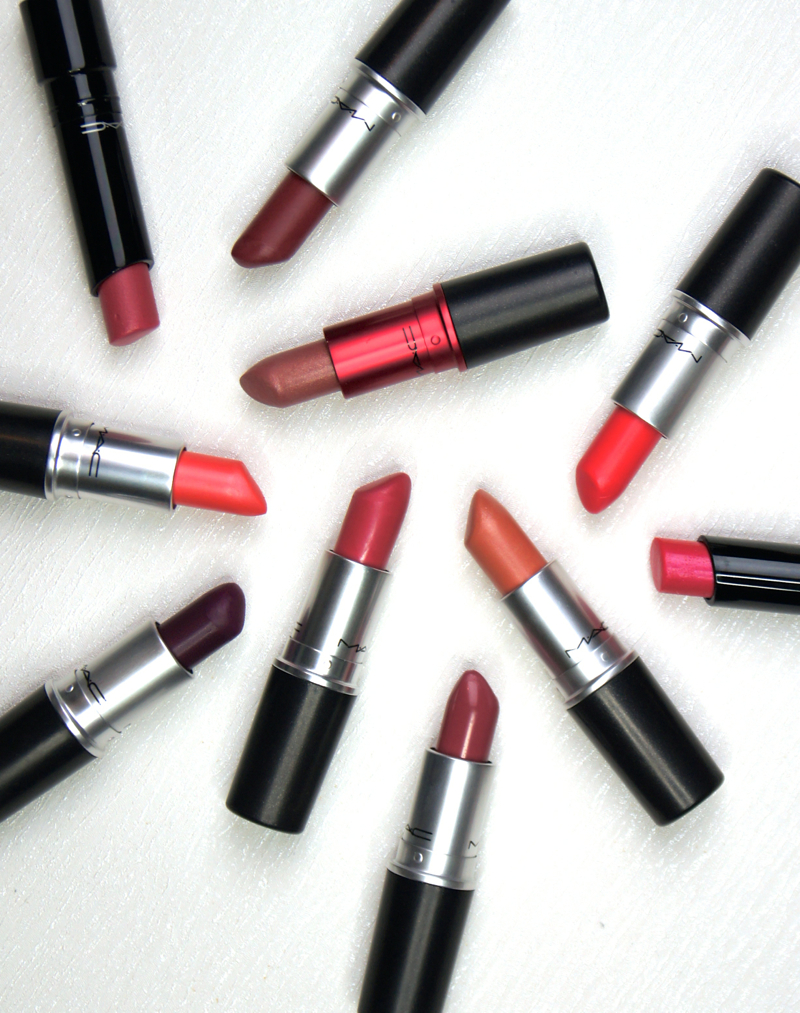 mac lipstick collection review swatches beauty blog