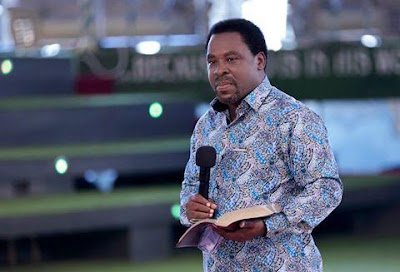 T.B Joshua reacts to allegations of being in Ghana to help 'rig' their Presidential election