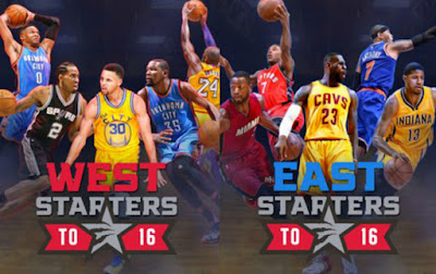 BALONCESTO - Titulares para el NBA All Star 2016