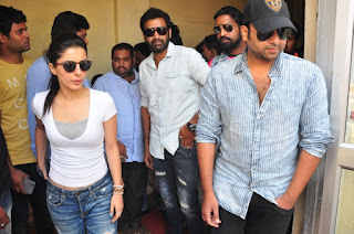 Isha Talwar Pictures in Jeans at Devi Theatre Coverage  0028.jpg