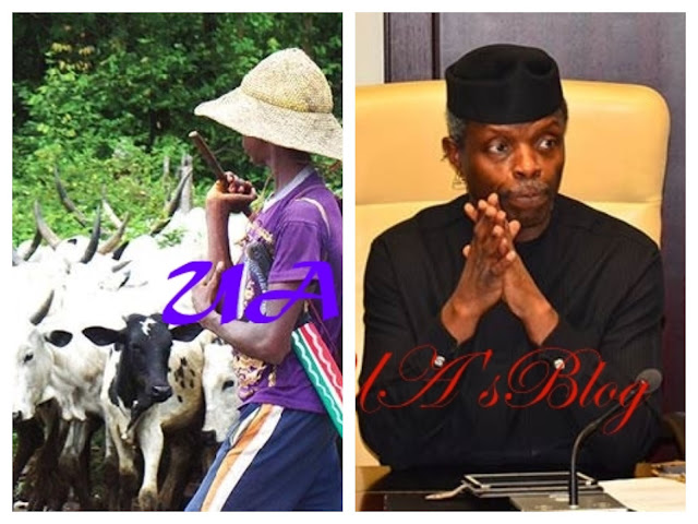 Breaking: FG bans open grazing in 5 states, orders creation of ranches