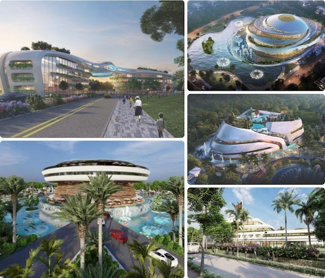 Dự án Sunshine Heritage Phúc Thọ Hà Nội Resort và những công trình kiến trúc biểu tượng: Đẳng cấp vượt thời gian