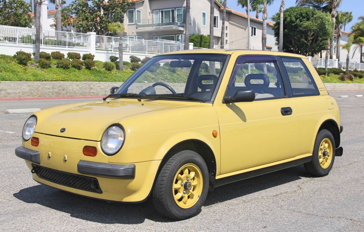 Daily Turismo: Detective Pikachu: 1987 Nissan Be-1