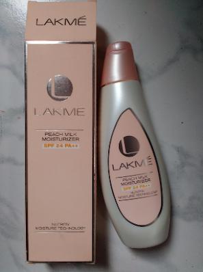 Lakme Peach Milk SPF 24 PA Sunscreen Moisturizer
