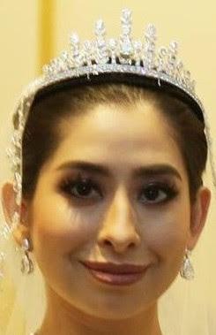 yellow diamond tiara johor malaysia princess tunku tun aminah