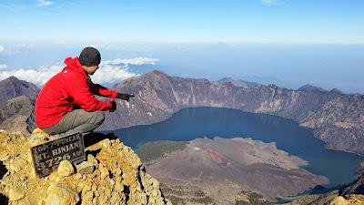 Summit Mount Rinjani