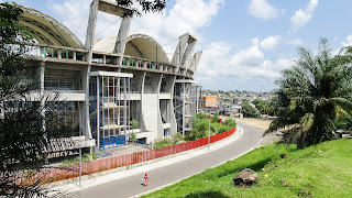 For a small city like Libreville, this is a huge stadium