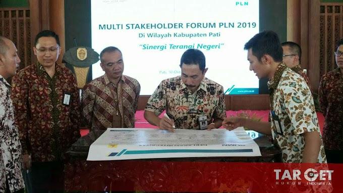 Bupati Haryanto Dukung PLN Sinergikan Info Pelayanan dan Pembangunan Ketenagalistrikan