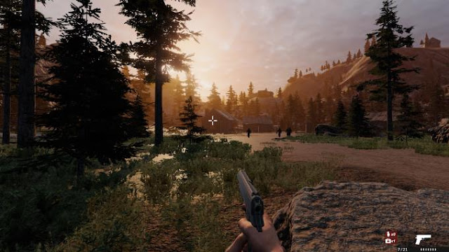 Werewolf Hills is a PC game with elements of a first-person shooter where you will need to find a terrible creature in the dark and try to destroy it.