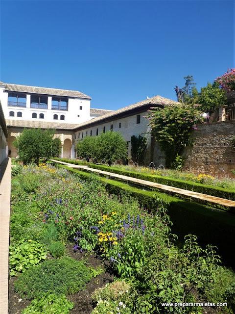 consejos para visitar Generalife Alhambra