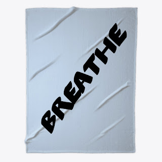 Breathe Fleece Blanket Baby Blue