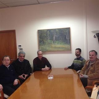 Σε συνάντηση με το δήμαρχο κ. Αλεξάκο