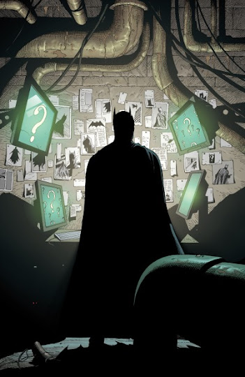 riddler's nest in batman earth one