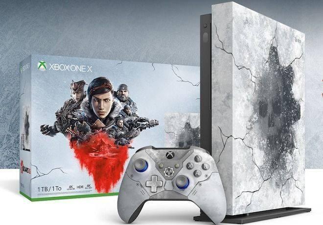 Participe do Sorteio de um Xbox One X 1 TB edição limitada do Gears 5!