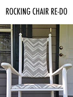 Watch as these old outdoor rocking chairs get a facelift