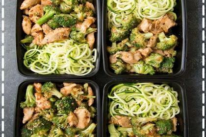 Sesame Chicken & Broccoli Stir Fry Meal Prep