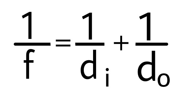 قوانين فيزيائية Physical Laws معادلة المرايا الكروية