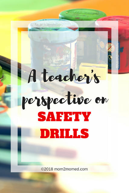 Mom2MomEd: A Teacher's Perspective on Safety Drills