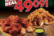 Promo Wingstop Payday Deal 12 Boneless Wings Rp.49.091 Periode 24-29 Februari 2020