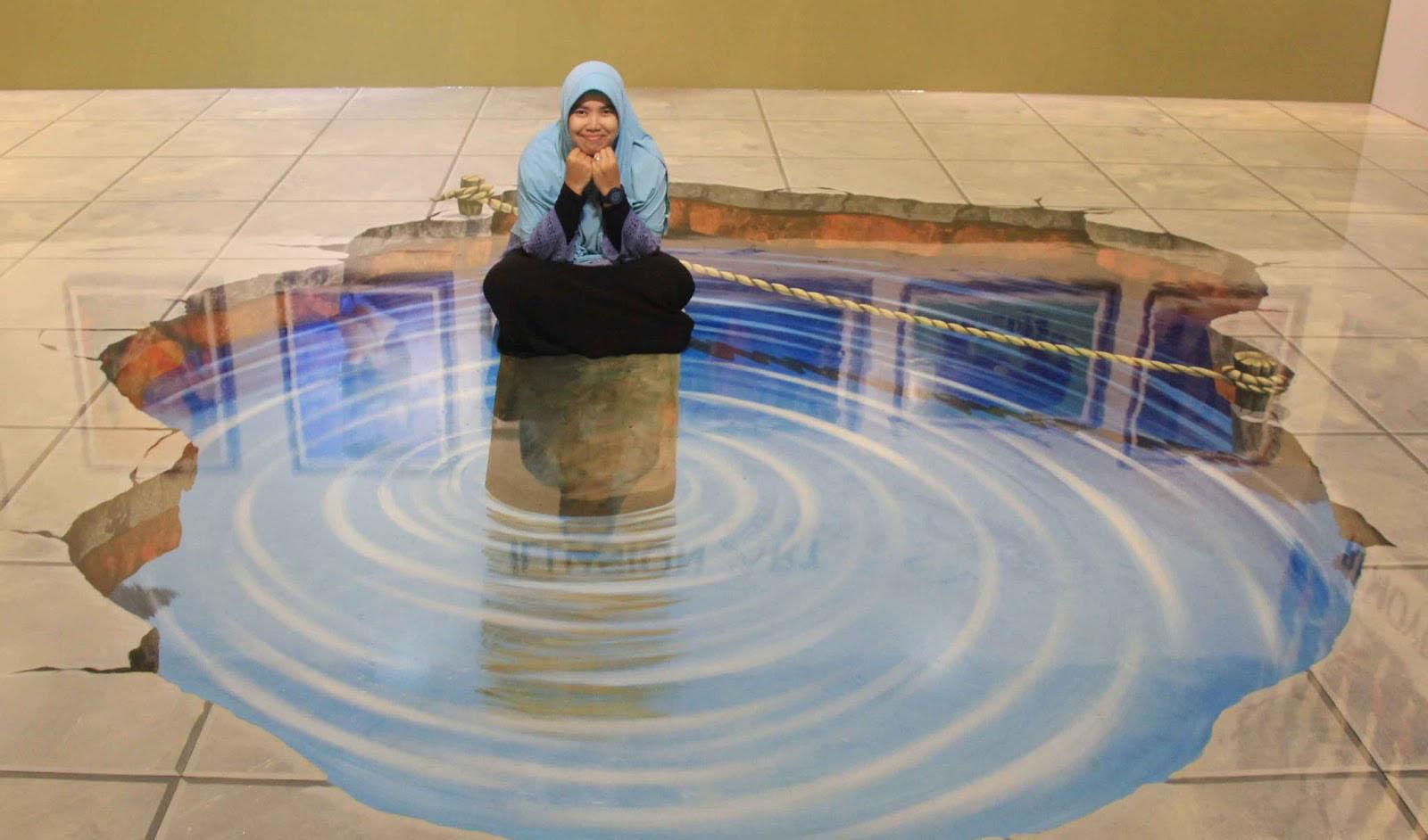 Seni 3D Art Magic Eye Museum Kualanamu