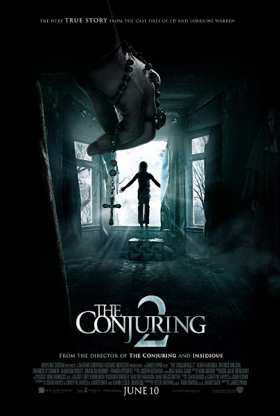 Poster Of The Conjuring 2 (2016) 720p English BRRip Full Movie Download