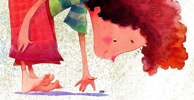 """Ilustração de Cris Eich para o livro infantil """"O Distraído Sabido""""."""