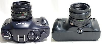 Zenit 312M (M42 Lens Mount) Body #985, Helios 44-M 50mm 1:2 #324
